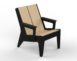 360Five Designs Midway Lounge Chair