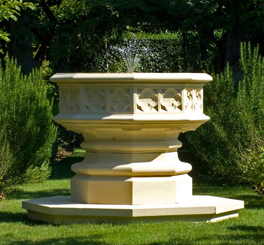 Haddonstone Gothic Fountain
