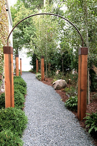 MetalSmith's Custom Metal and Wood Arches