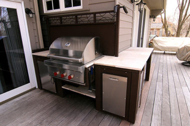 MetalSmith's Custom Outdoor Kitchen