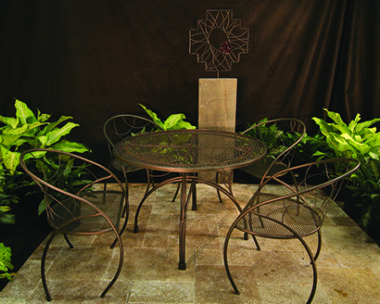 MetalSmith's Custom Patio Set