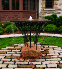 MetalSmith's Water Feature