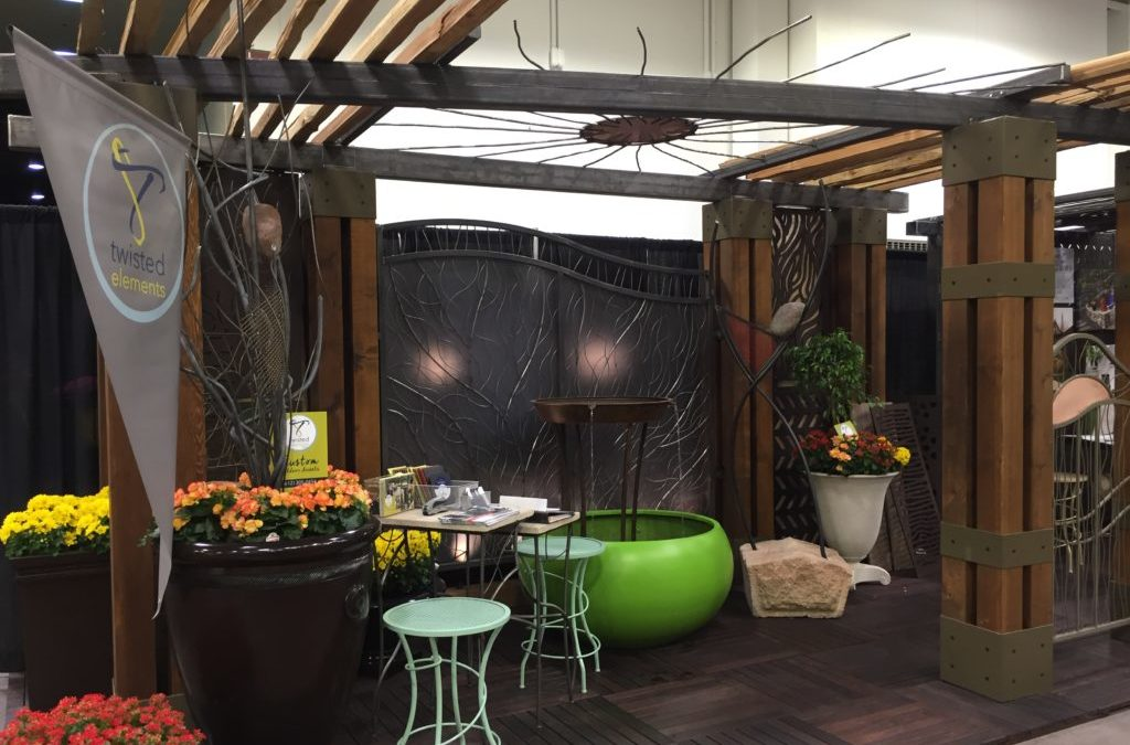 Twisted Elements Booth Wins at the Home and Garden Show