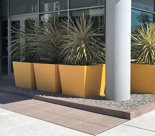 Tournesol Siteworks Urban Collection Planters Twisted