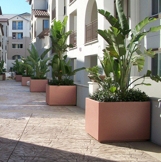 Tournesol Siteworks Wilshire Collection Planters