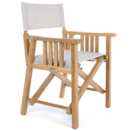 Westminster Teak Barbuda Collection Director Chair