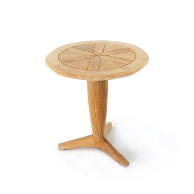 Westminster Teak Saloma Round Side Pedastal Table