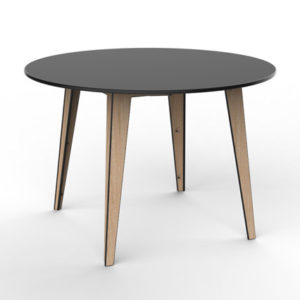 360Five Design Nexus Dining Table Black