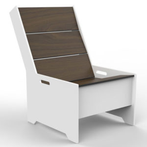 360 Five Designs Moniker Lounge Chair White