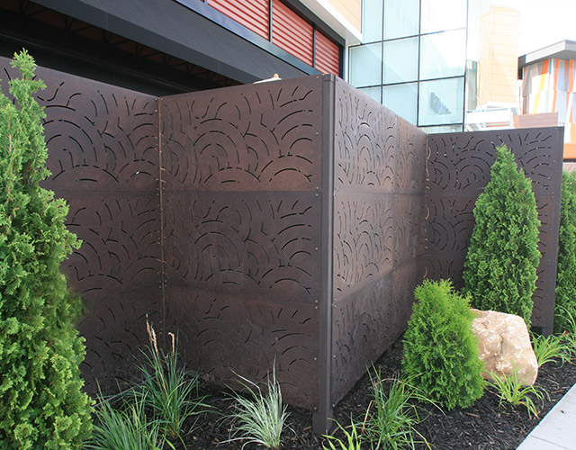 Architectural Outdoor Privacy Panels in Minneapolis-St. Paul