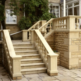 Haddonstone Balustrade Side Run In