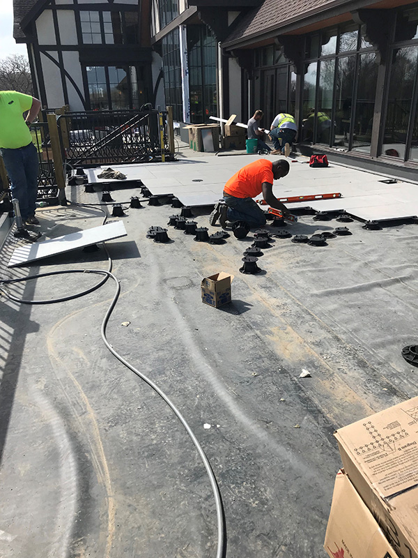 Interlachen Country Club Roof Top Terrace Mirage Edina Minneosta_ Construction15_web