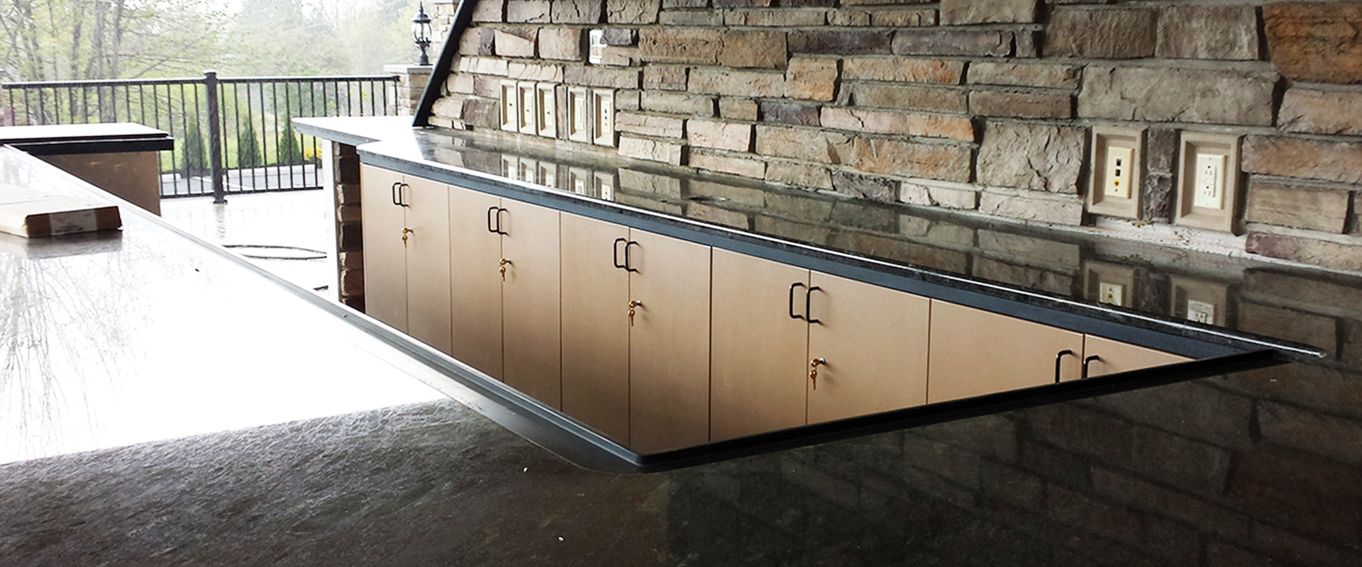 Open Air - Simple Cabinet Door Locked cabinets Twisted Elements mn