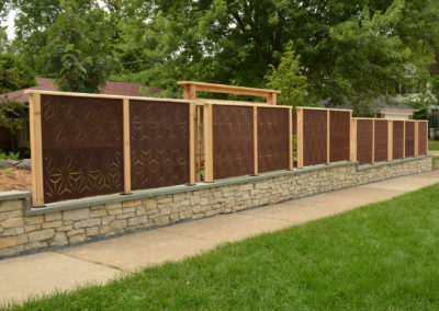 Outdeco Panels used for Fencing