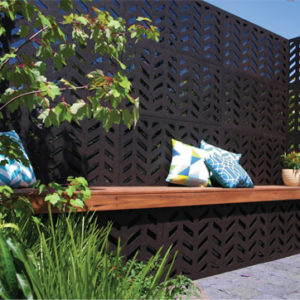 OUTDECO Herringbone screen