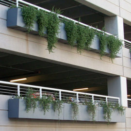 Tournesol Siteworks Wilshire Collection Hanging Planter