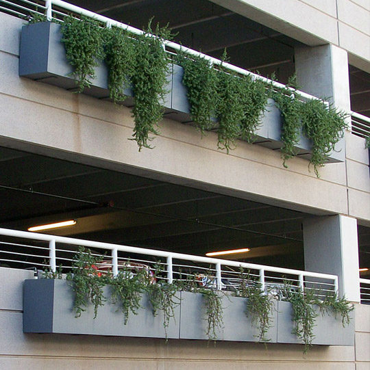 Tournesol Siteworks Wilshire Collection Planters Twisted Elements