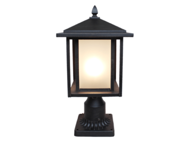 Tru-Scapes TS-PL101 Modern-LED Low Voltage Pillar Light