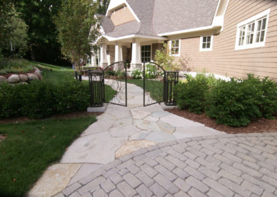 Custom Entrance Gate by Metalsmith's Designs
