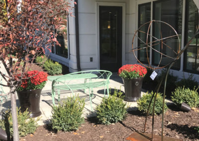 Gardenstone Planters and Custom Metalsmith's Designs Sculpture